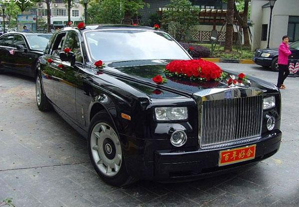 婚礼车队租赁